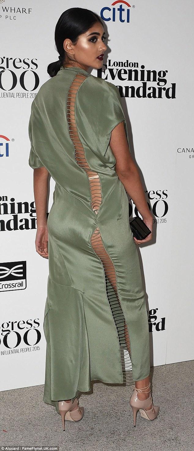 Foto Seksi Neelam Gill Gebetan Baru Zayn Malik Pamer Pakaian Dalamdi acara London Evening Standard's Progress 1000