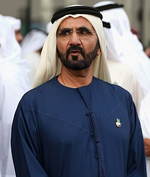 Dubai ruler Sheikh Mohammad bin Rashed Al Maktoum whose eldest son died on Saturday