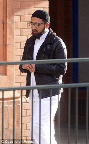 Ms Menaz's cousin, Mohammad Nakash Ali (pictured), told the hearing she had been 'distressed' prior to her death