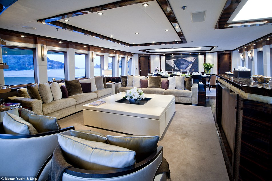 Russian Billionaire Andrey Igorevich Melnichenkos Yacht Is The Worlds LARGEST Daily Mail Online