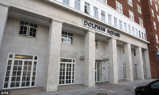 Central location: The force has struggled to find any evidence to stand up the accusation that prominent figures were involved in the paedophile ring at Dolphin Square (pictured) in Westminster