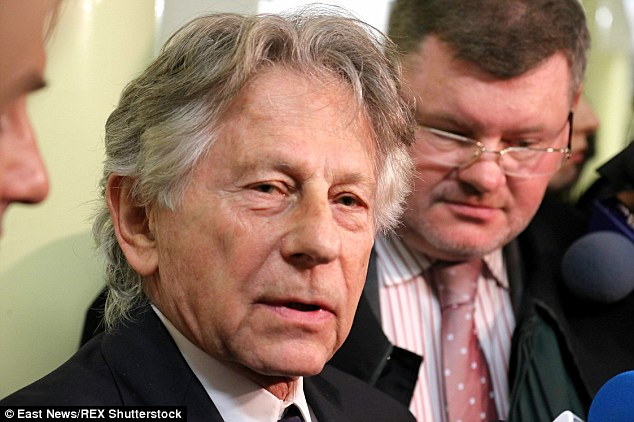 Reaction: Talking to reporters after the hearing, Polanski said it was 'important' for him to be in the court room