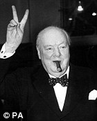 Cameron should act like Winston Churchill, it has been claimed