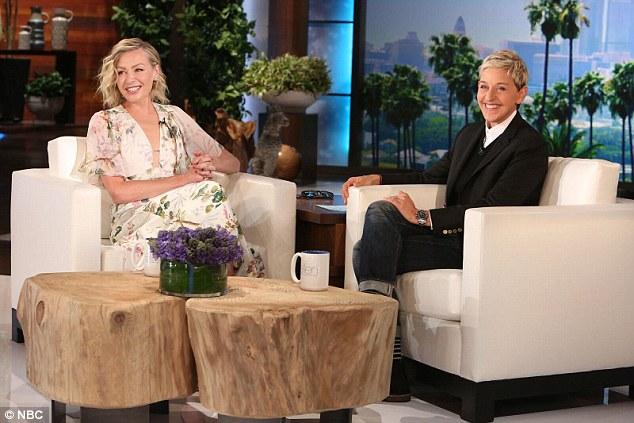 Ellen DeGeneres Embarrasses Portia De Rossi With Secret