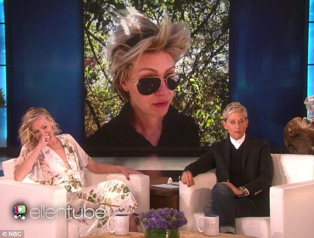 Ellen DeGeneres Embarrasses Wife Portia De Rossi With Bad