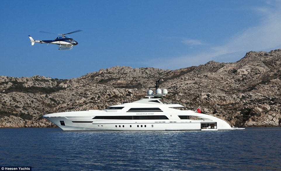 Beyonce And Jay Z Cruised Around The Mediterranean On 50m