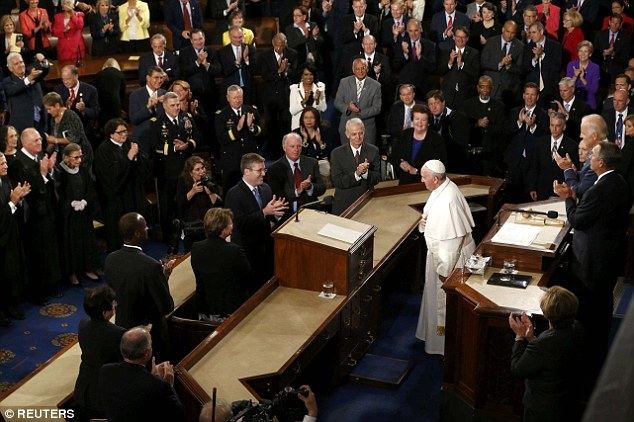 Francis took the opportunity to lecture lawmakers on a variety of topics ranging from social to environmental issues. Known as a forceful advocate, he did not disappoint