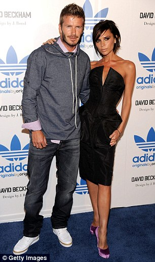 Happy in LA: The couple pictured in Los Angeles in September 2009. One thing David and Victoria are agreed on is that they miss their old lives in LA. A hint was dropped recently when they were observed looking over Madonna's old house in the city, which they didn't like enough to make an offer on