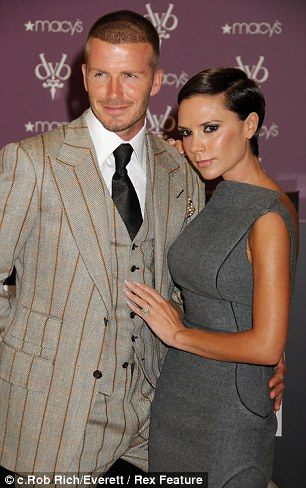 Posh & Becks in New York in September 2008