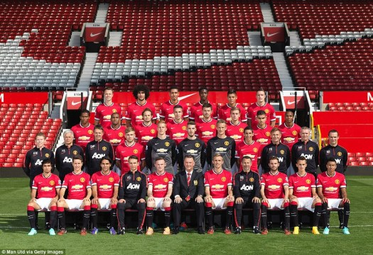 Manchester United all change as latest team picture shows ...