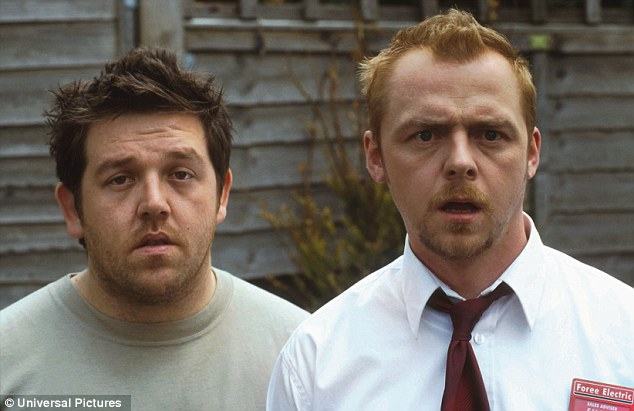 Image result for simon pegg and nick frost