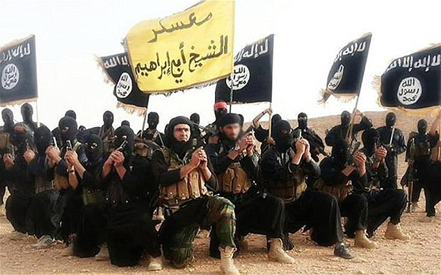 Mr Todenhöfer said Isis, pictured, were the most 'brutal and dangerous' enemy he has ever seen