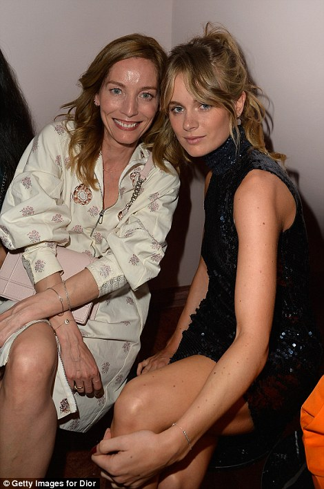 The uber-eccentric pad was once hired by high-end fashion house Dior for a show to coincide with the Cannes Film Festival. Cressida Bonas was one of the high-profile models