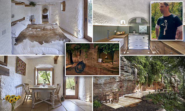 Grand Designs Man Spends 100k Carving A CAVE Into His Dream House Daily Mail Online