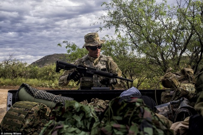 The 'watchmen' of The Arizona Border Recon have three goals; stop illegal immigration, stop drug smuggling, and stop human trafficking