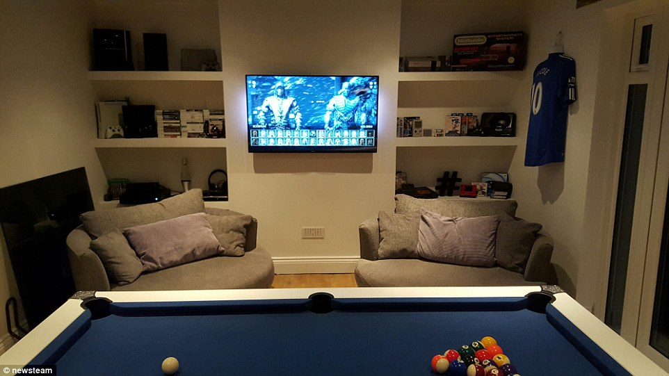 UKs Best Games Rooms Compete To Become Man Cave Of The