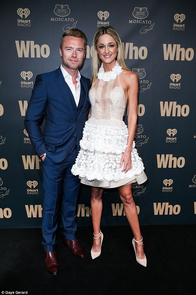 Ronan Keating And Wife Storm Uechtritz Return To Sydney