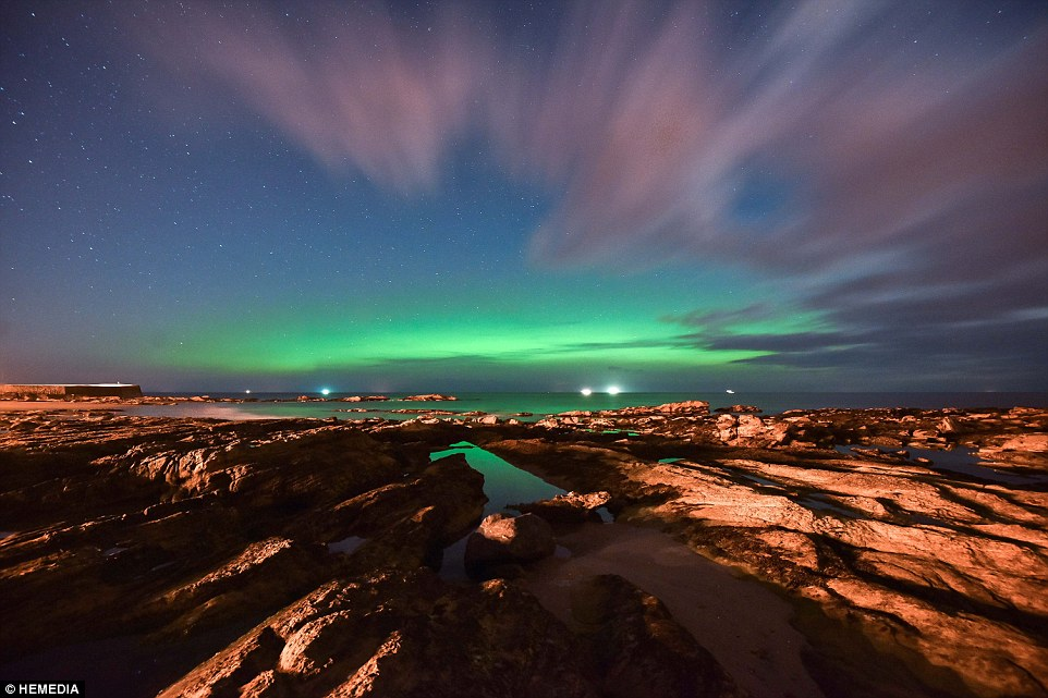 Best Place See Northern Lights Scotland