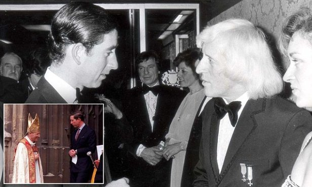 Jimmy Savile and Charles' very close friendship with sex abuse bishop