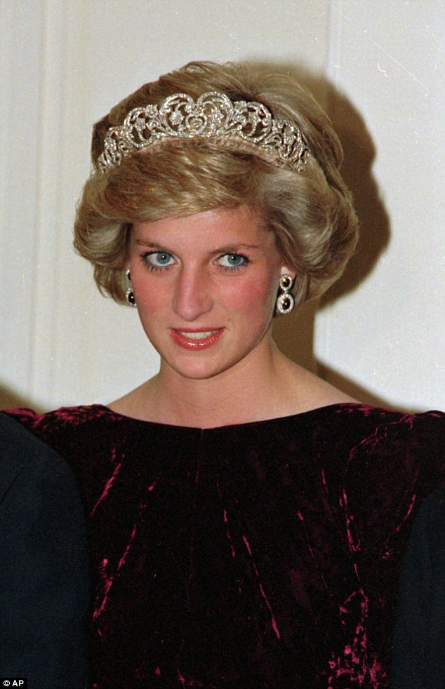 Kate could select the Spencer tiara in tribute to the Duke of Cambridge's mother