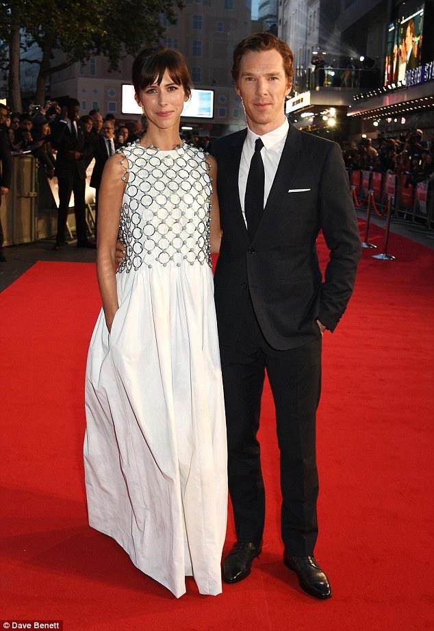 Benedict Cumberbatch And Sophie Hunter Dazzle At Black