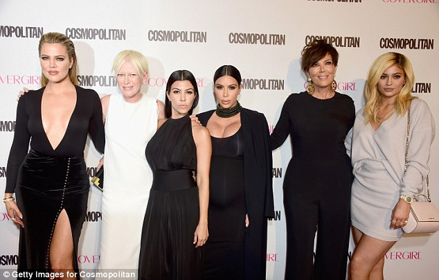 Something's missing... The group were notably missing Kendall Jenner to complete the line-up