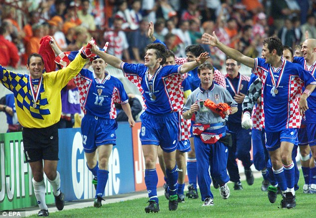 Image result for croatia 1998
