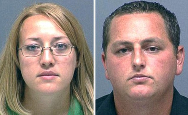 Shannon (left) and dale Hickman (right) were convicted of second-degree manslaughter in 2011 and were sentenced to six years in prison