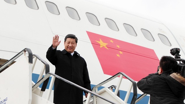 Security tight ahead of first state visit to uk by chinese president ...