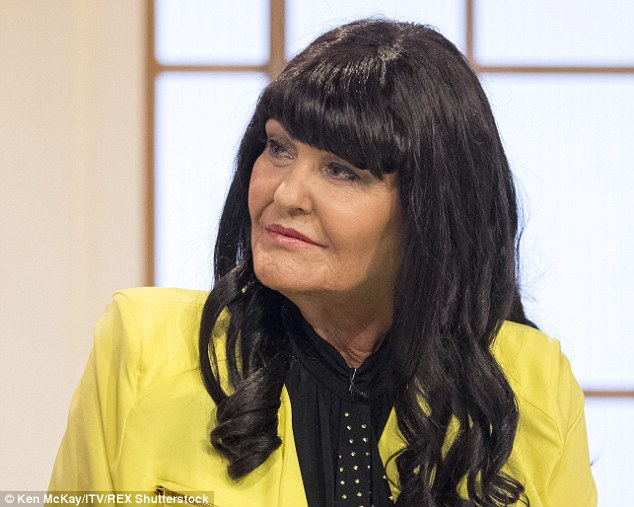 Defence: Speaking on ITV's Loose Women yesterday, Miss Devey (pictured on the show), 58, defended her decision to sleep with Mevlit for so long, saying her 'mother's instinct' means she knows what is best for him