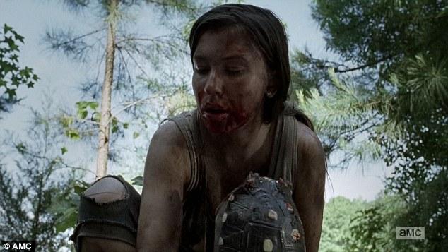 Walking Dead JSS eating turtle