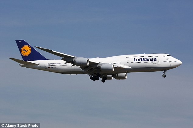 The longest aircraft - that's currently in service - is the 747-8 Intercontinental, a Boeing plane that's commonly used by Lufthansa