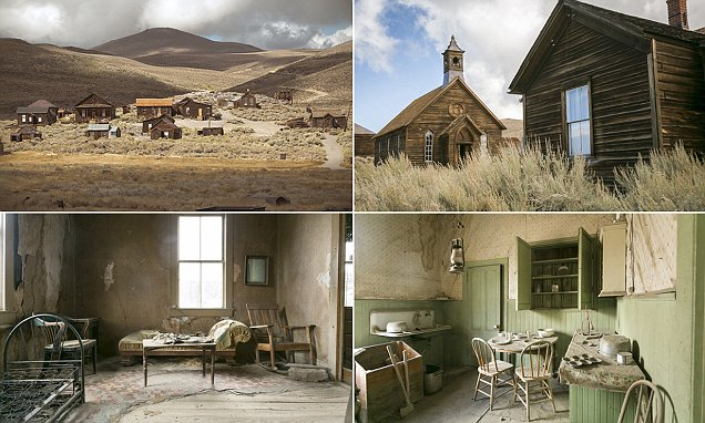 Photos Show The Once Bustling Life Of A Gold Mining Town Bodie In California Daily Mail Online
