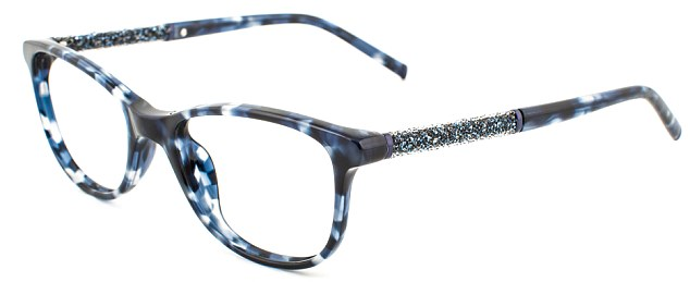 The Aurora Sapphire tortoiseshell frames from Twiggy's new line of glasses for specsavers