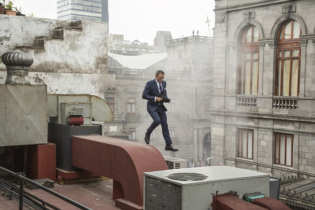 Shaken, not stirred: Spectre, out on October 26, is downright playful in its multiple nods to previous Bond films
