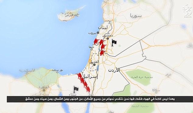 El grupo terrorista dicen que van primero primero invadido Jordan luego atacar Israel