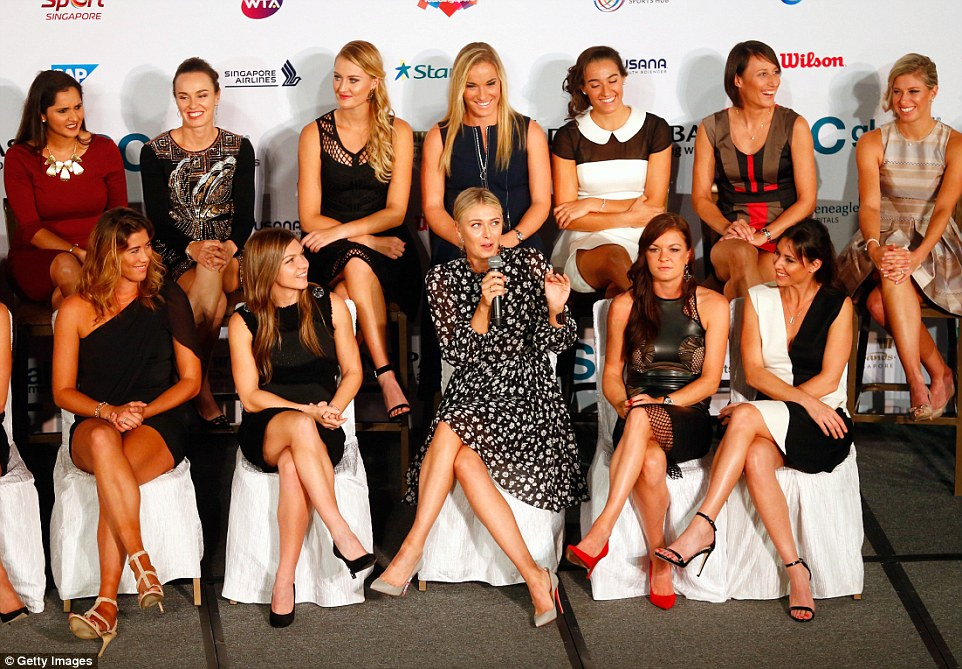 She may have been troubled by an injury streak recently but Sharapova insists she is now ready for the WTA Finals