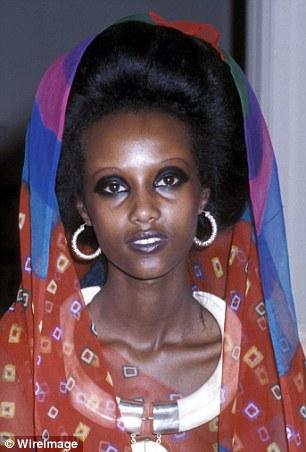 Somali model Iman at 19 in 1975