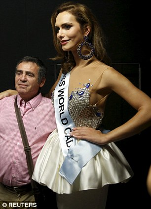 The first openly transsexual woman to compete to represent Spain was eliminated in the first knockout round