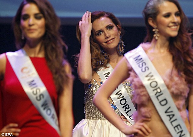 Angela Ponce, 23, is the first transsexual woman to represent a province in the Miss World Spain pageant