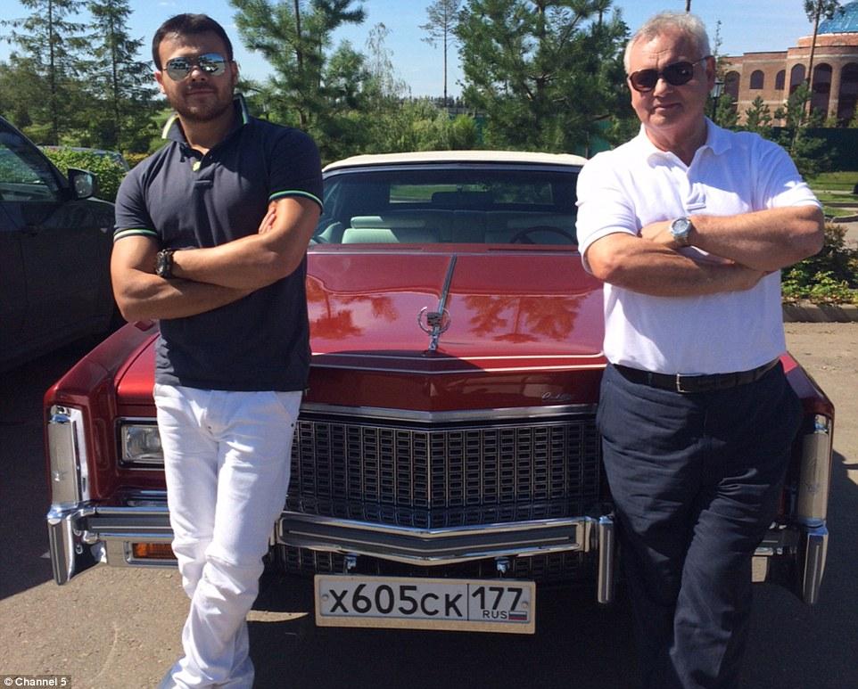 Eamonn Holmes meetsRussian billionaire Emin Agalarov