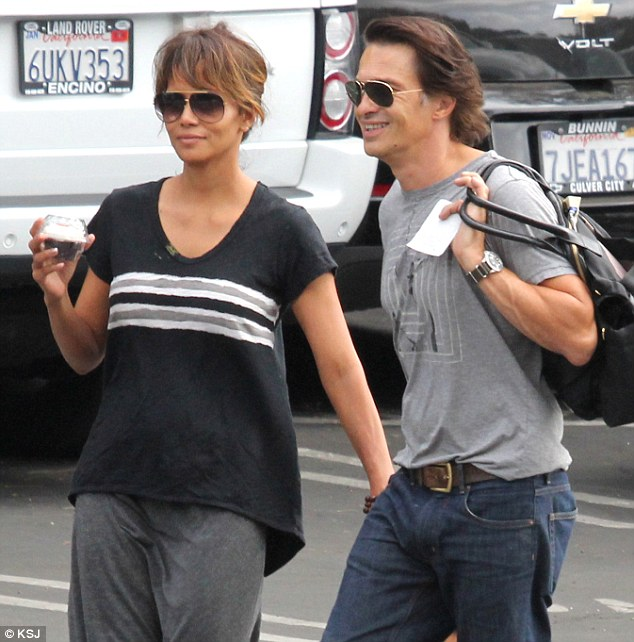 A-OK 10 days ago:Halle and Olivier were last seen together on October 17 while at a Halloween event in Sherman Oaks with her daughter Nahla from her relationship with model Gabriel Aubry
