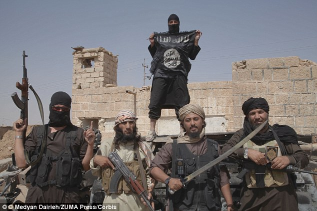 Both men were from the Syrian city of Raqqa, which was overtaken by the jihadi group ISIS