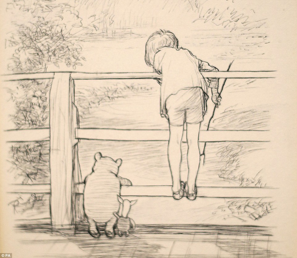 Image result for winnie the pooh original shepard