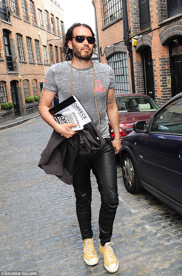 Well-known bearded Lothario Russell Brand has earned himself somewhat of a 'bad boy reputation'