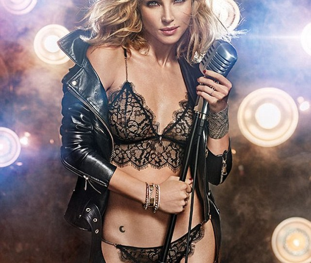 Elsa Pataky Oozes Serious Sex Appeal In Skimpy Lace Lingerie For