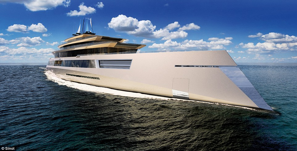Is This The Super Yacht Of The Future Symmetry The 590ft