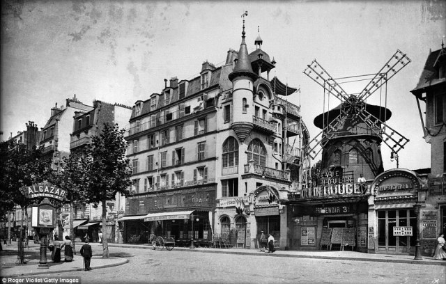 The Moulin Rouge was owned by businessmen Joseph Oller and Charles Zidler. It was orignally called the White Queen Dance Hall