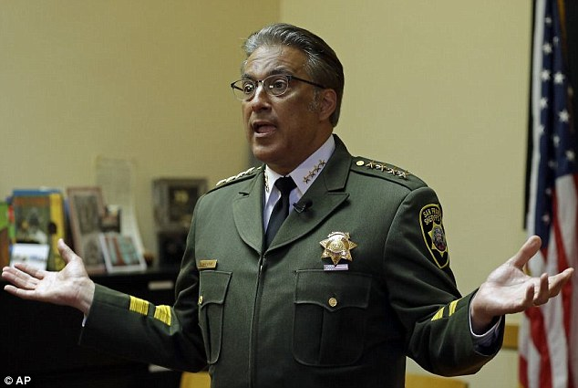 Out! San Francisco Sheriff Ross Mirkarimi lost his bid for re-election on Tuesday,  amid blowback for releasing a illegal Meixcan immigrant from jail. Pictured above in April