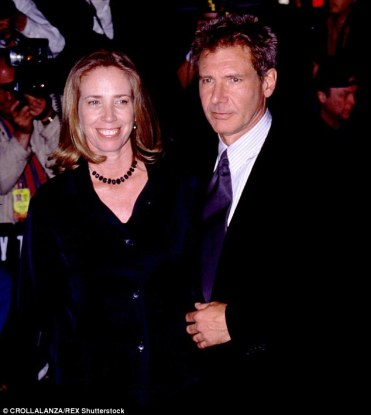 Image result for melissa mathison and harrison ford wedding